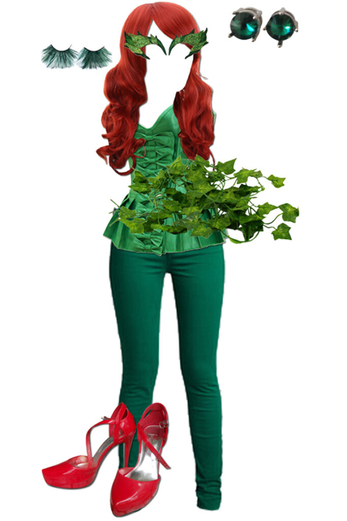 DIY: Easy Poison Ivy Costume