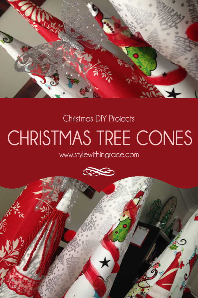 DIY: Christmas Tree Cone Decorations