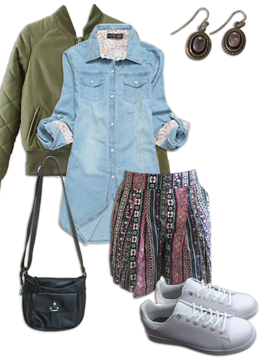 Chambray Shirt Outfit 10