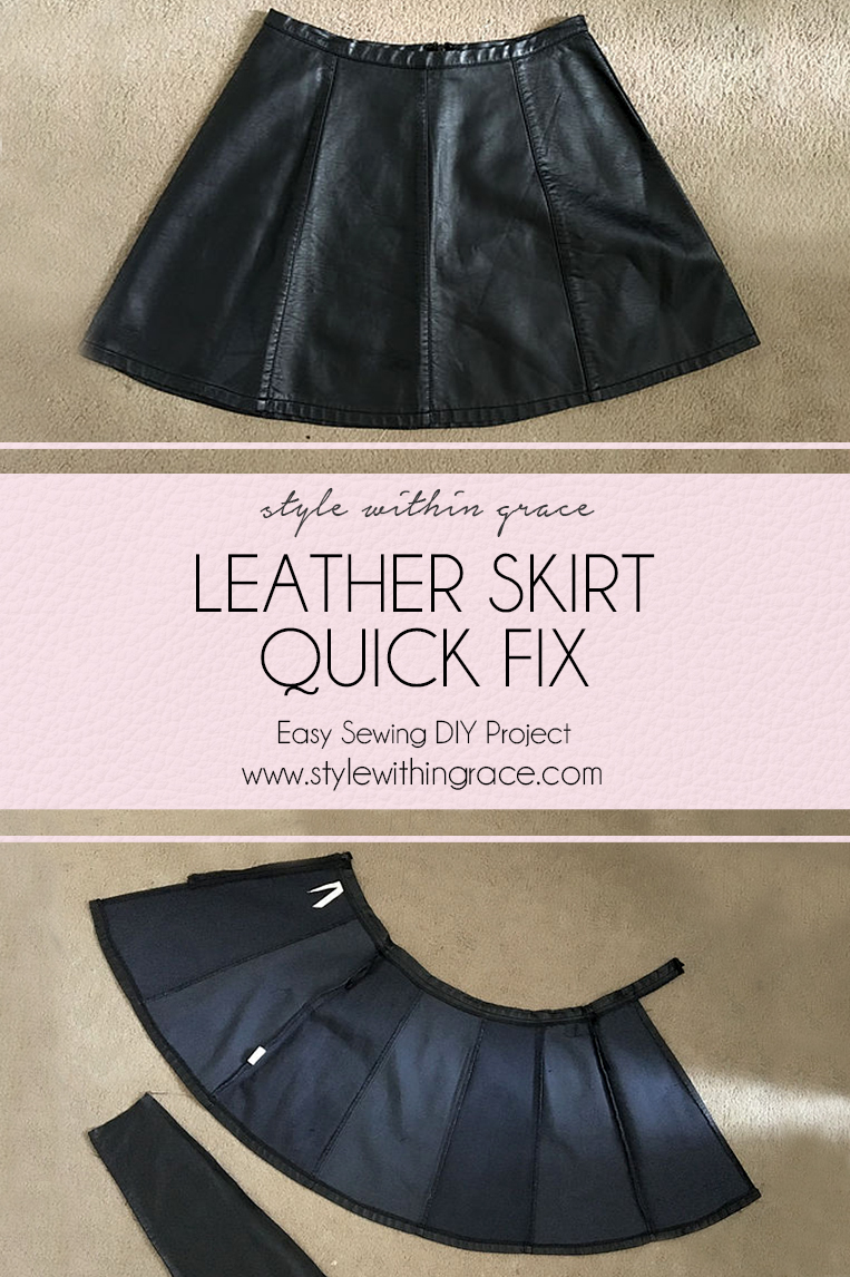 An easy DIY sewing project with a bargain thrift store find to turn it into an amazing and versatile  addition to my wardrobe.