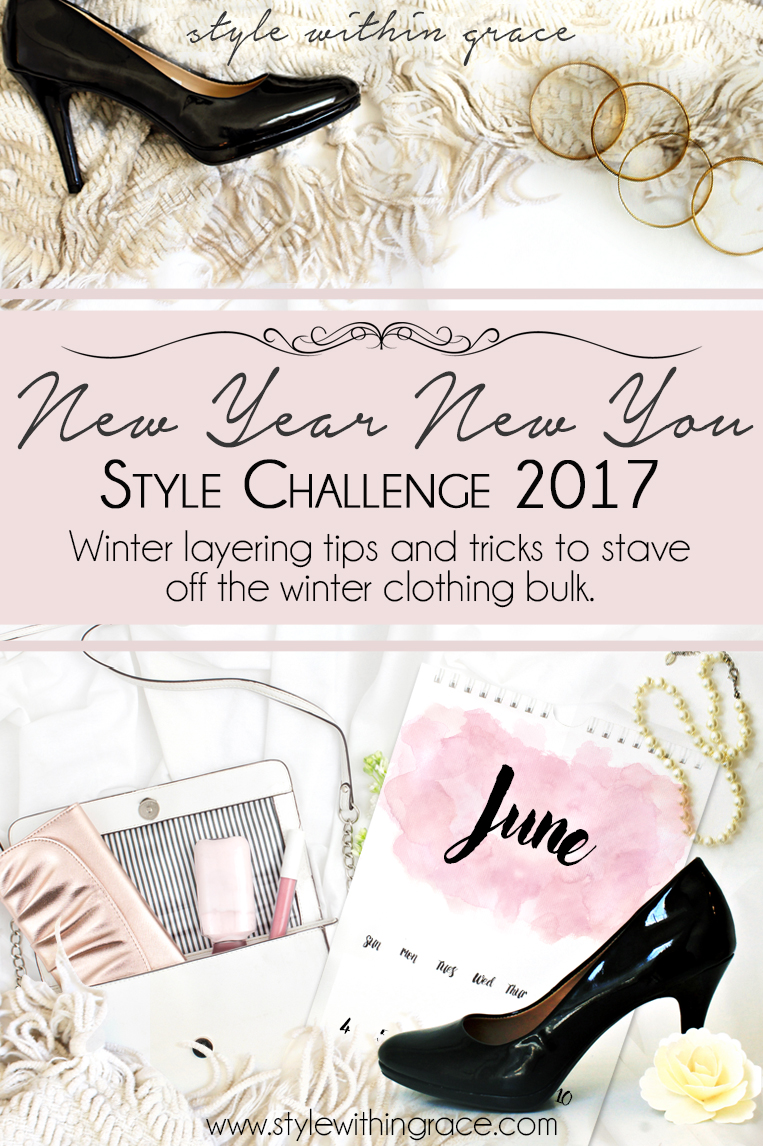 Everything to do with layering from winter essentials to patterning mixing while layering to style tips and tricks to stave off the winter clothing bulk. A style challenge to help you become a layering master!