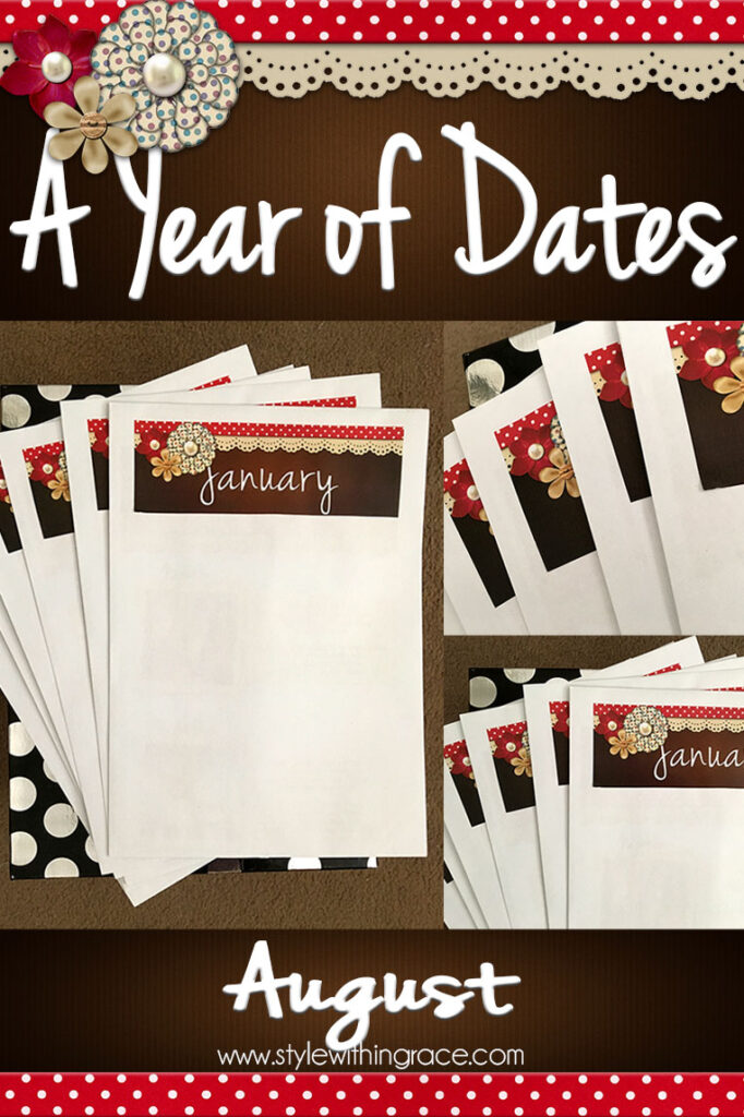 A Year of Dates (In A Box) August