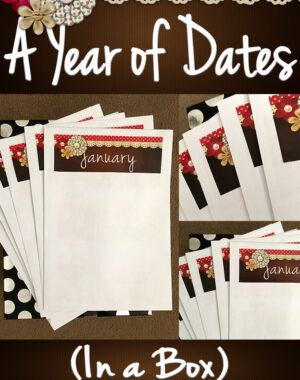 A Year of Dates (In A Box) Title