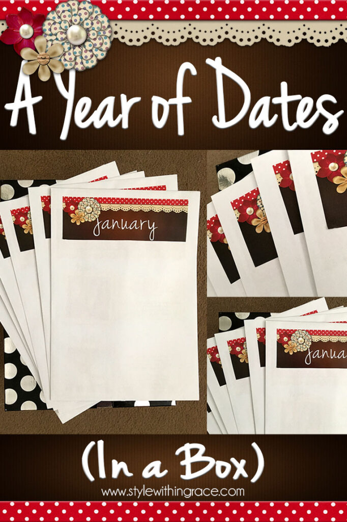 A Year of Dates (In A Box) – The Perfect Couple Gift