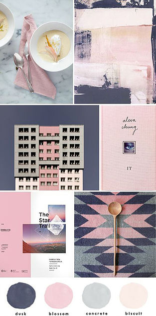 Colour Mood Board