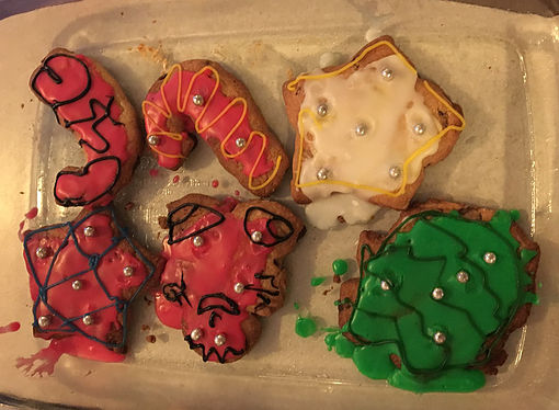 Iced Christmas Cookies 4
