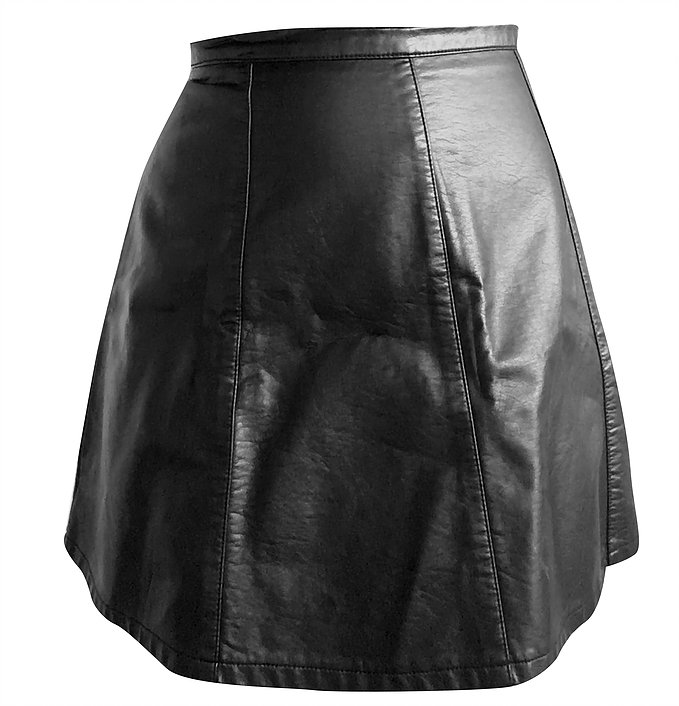 Leather Skirt After