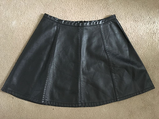 Leather Skirt Before