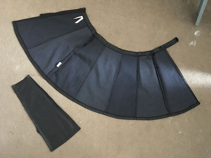 Leather Skirt Deconstructed