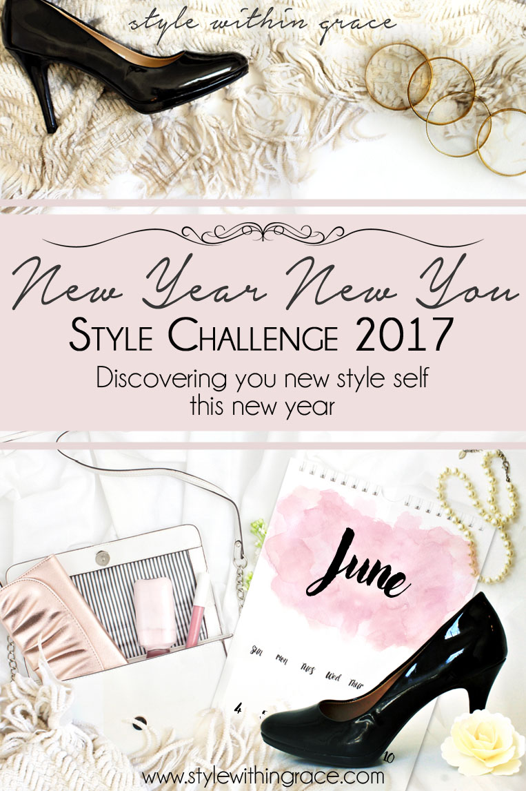New Year New You Style Challenge Title Vertical June