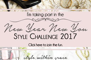 New year New You Style Challenge Banner