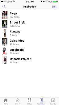 Stylebook Wardrobe App Screenshot 01