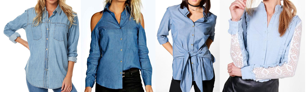 Winter Essentials Chambray Shirt