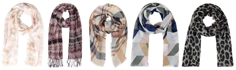 Winter Essentials Printed Scarf