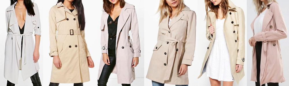 Winter Essentials Trench Coats