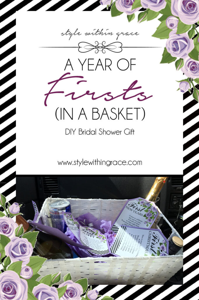 A Year of Firsts (In a Basket) – A Perfect Couple Gift
