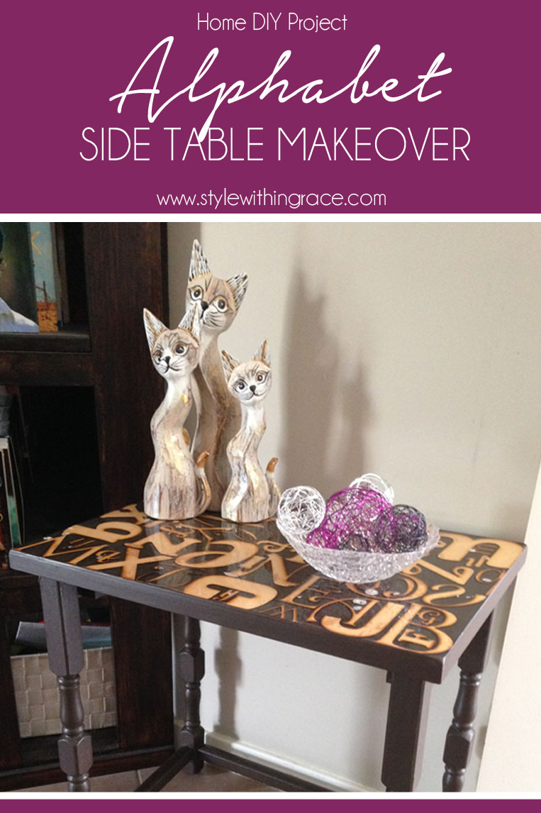 A stylish home decor DIY project that is bound to make you house feel more like a home. How to upcycle stacking side tables with step by step instructions and tutorials.