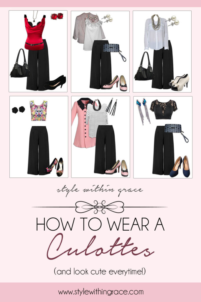 How to Wear a Culottes Title