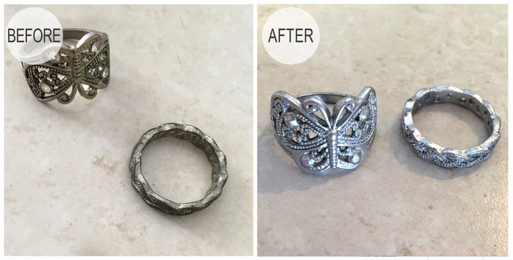 Jewellery Makeover DIY Before and After 2