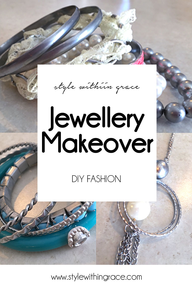 An super easy and cheap DIY project to turn your gold jewellery into silver jewellery. Get more wear out of your old accessories now! Click for step by step instructions!