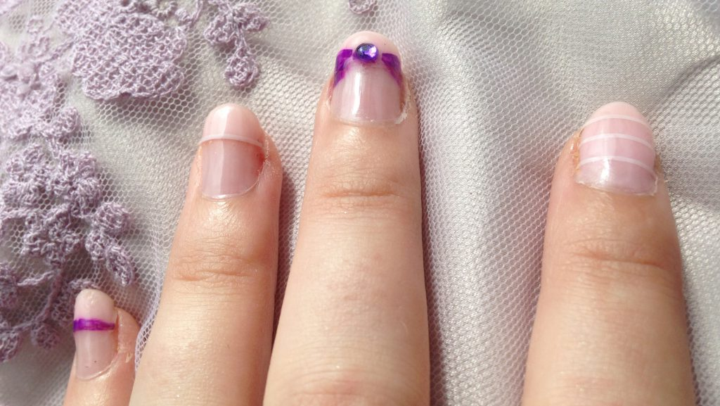 Pastel Wedding Nails 2