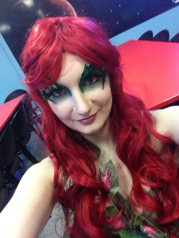Poison Ivy Eyebrows Costume