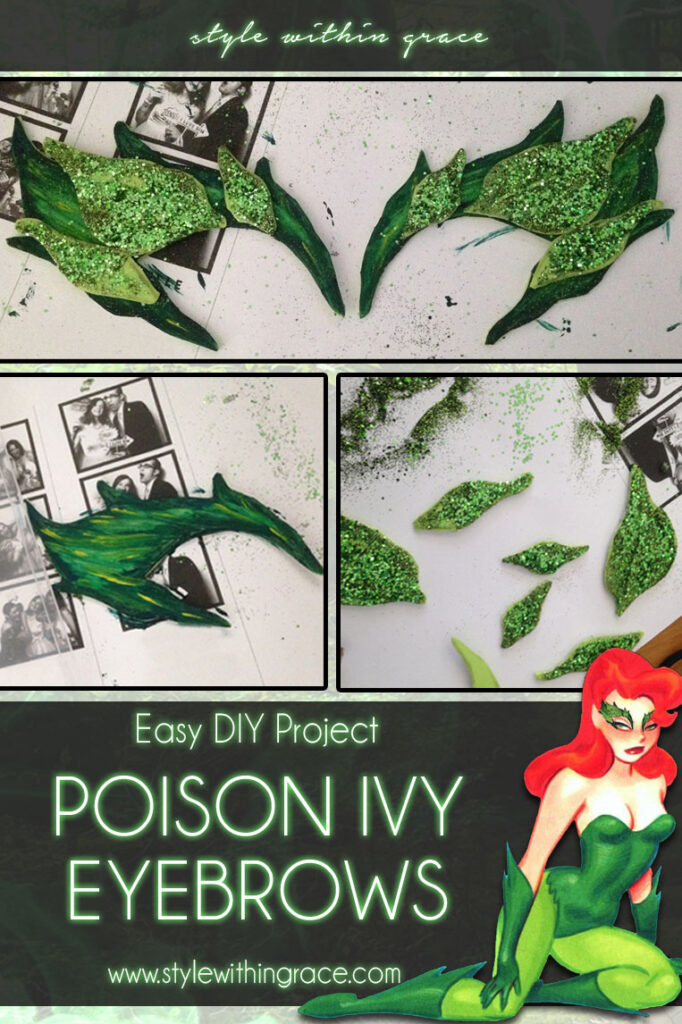 DIY: Poison Ivy Costume Eyebrows