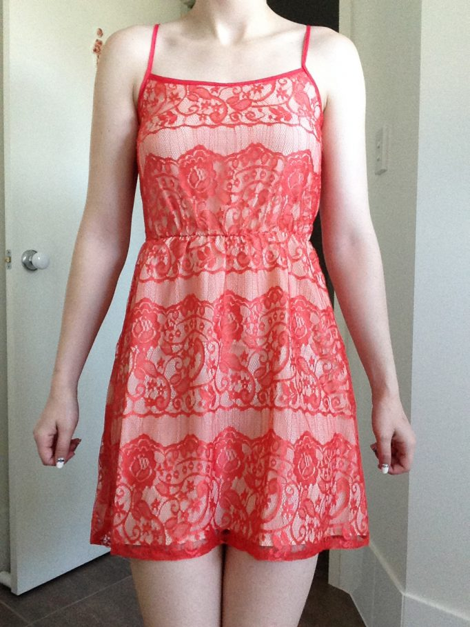 Collective Concepts Coral Dress