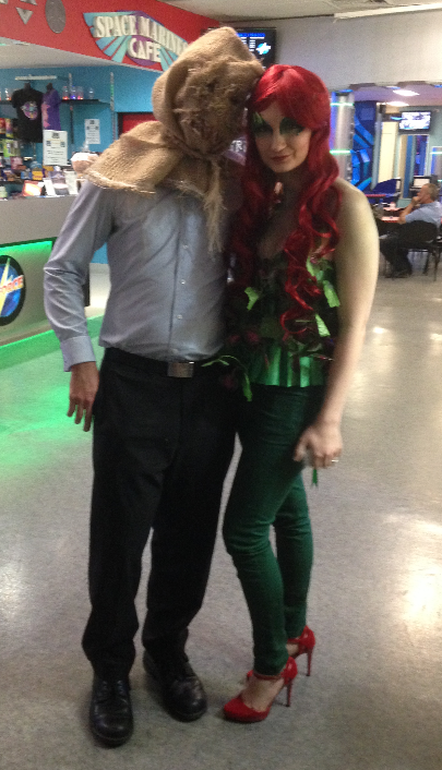 DIY Poison Ivy Costume 1