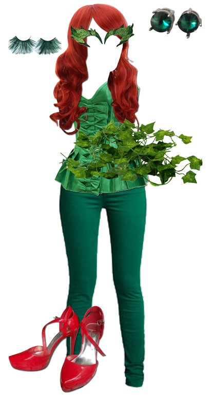 Poison Ivy Costume  sc 1 st  Style Within Grace & DIY: Easy Poison Ivy Costume - Style Within Grace