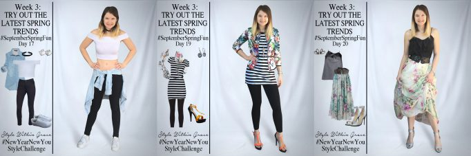 September Spring Fun Outfit Ideas Week 3