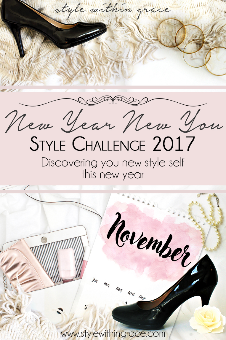 New Year New You Style Challenge November - This month is all about breaking the so called fashion rules. Will you join me?