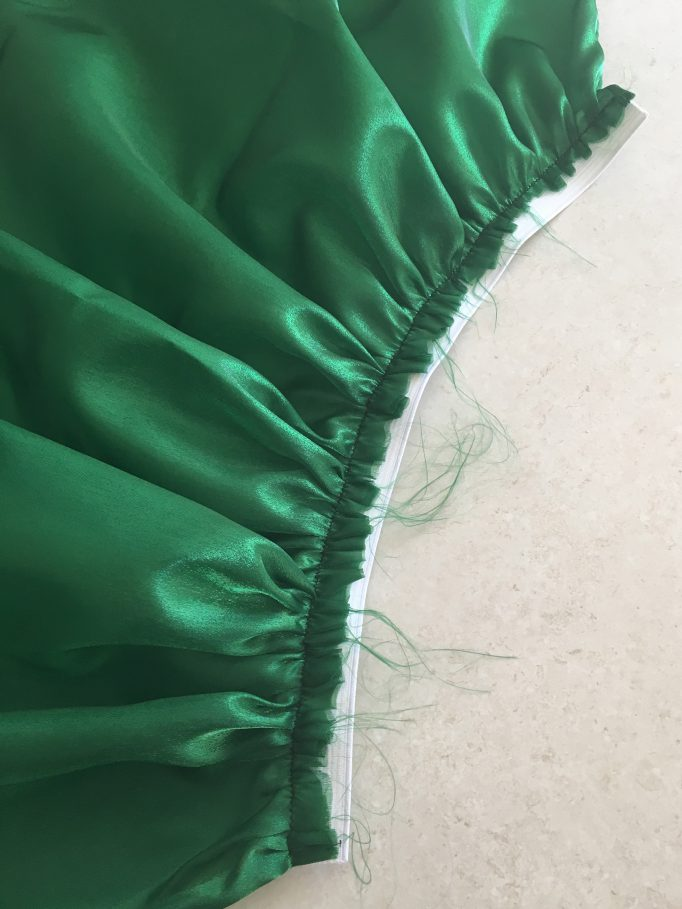 Creepy Little Mermaid Removal Tail Costume DIY Step 3-5
