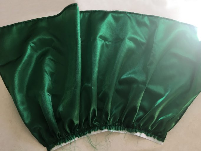 Creepy Little Mermaid Removal Tail Costume DIY Step 3-6