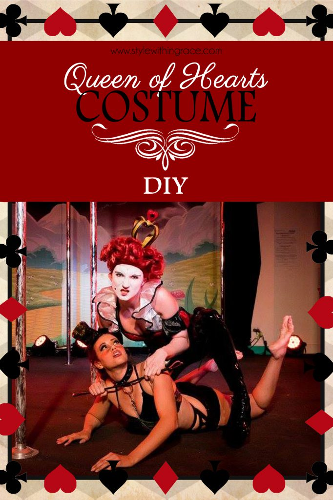 Dominatrix Queen of Hearts Costume