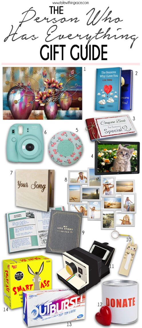 What to Get Someone Who Has Everything: The Gift Guide for the One who has it all