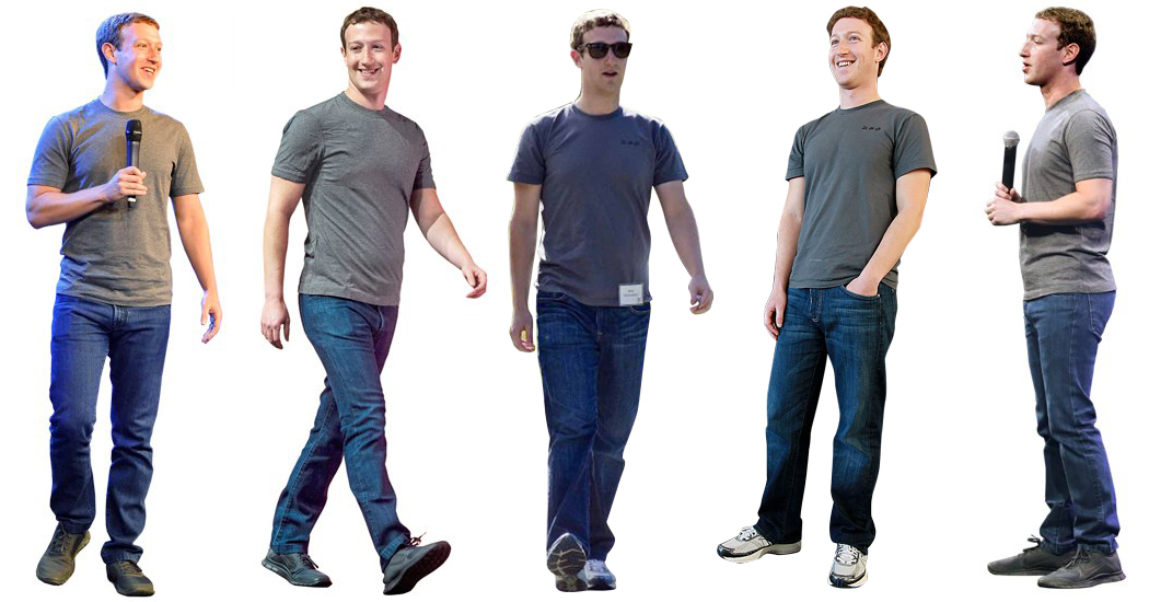 Mark Zuckerberg Style Uniform Style Within Grace