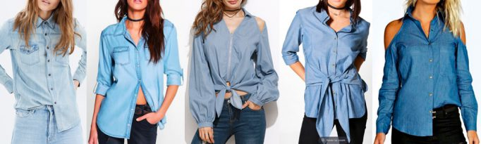 Summer Wardrobe Essentials - Chambray Shirt
