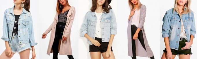 Summer Wardrobe Essentials - Denim Jackets or Cardigans