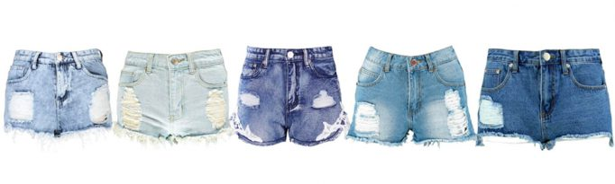 Summer Wardrobe Essentials - Denim Shorts
