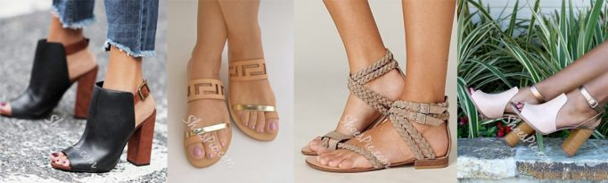 Summer Wardrobe Essentials - Sandals