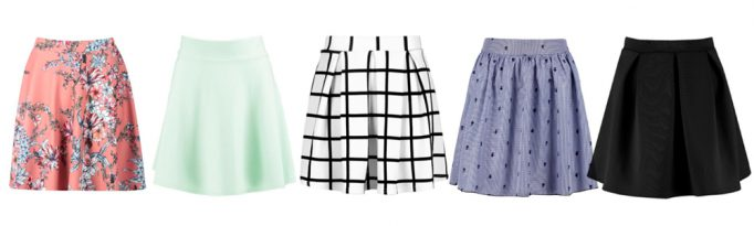 Summer Wardrobe Essentials - Skater Skirts