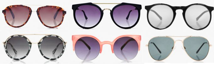 Summer Wardrobe Essentials - Sunnies