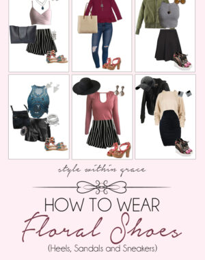 How to Wear a Floral Shoes