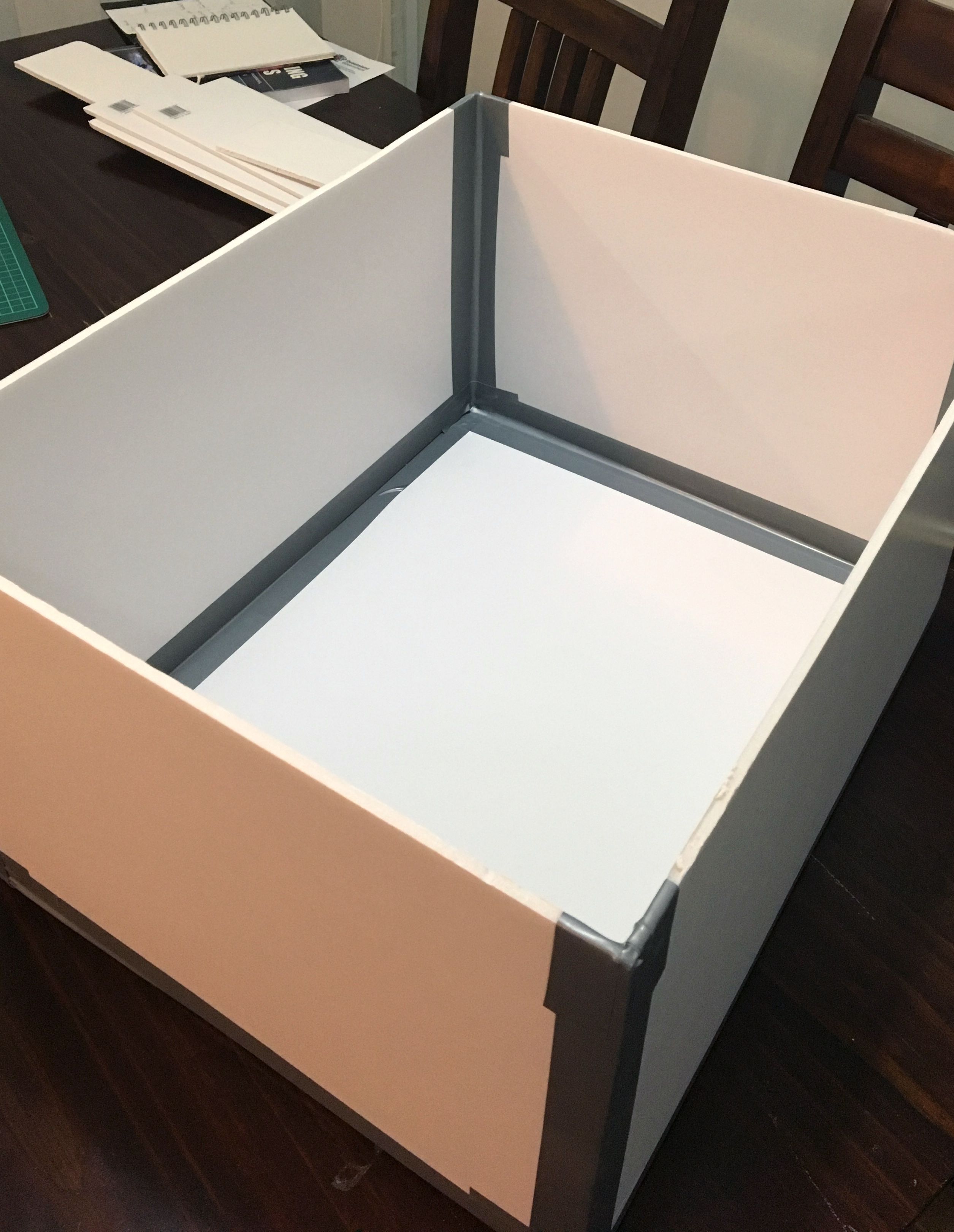 Storage Boxes DIY Step 2-d