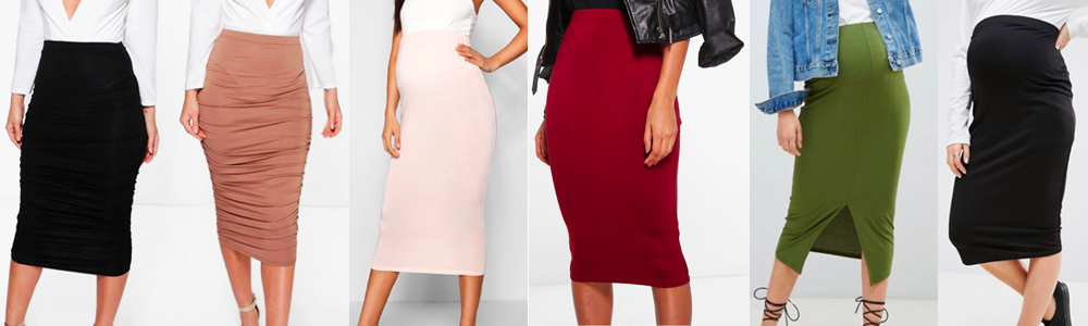 Maternity Wardrobe Essentials - Pencil Skirts