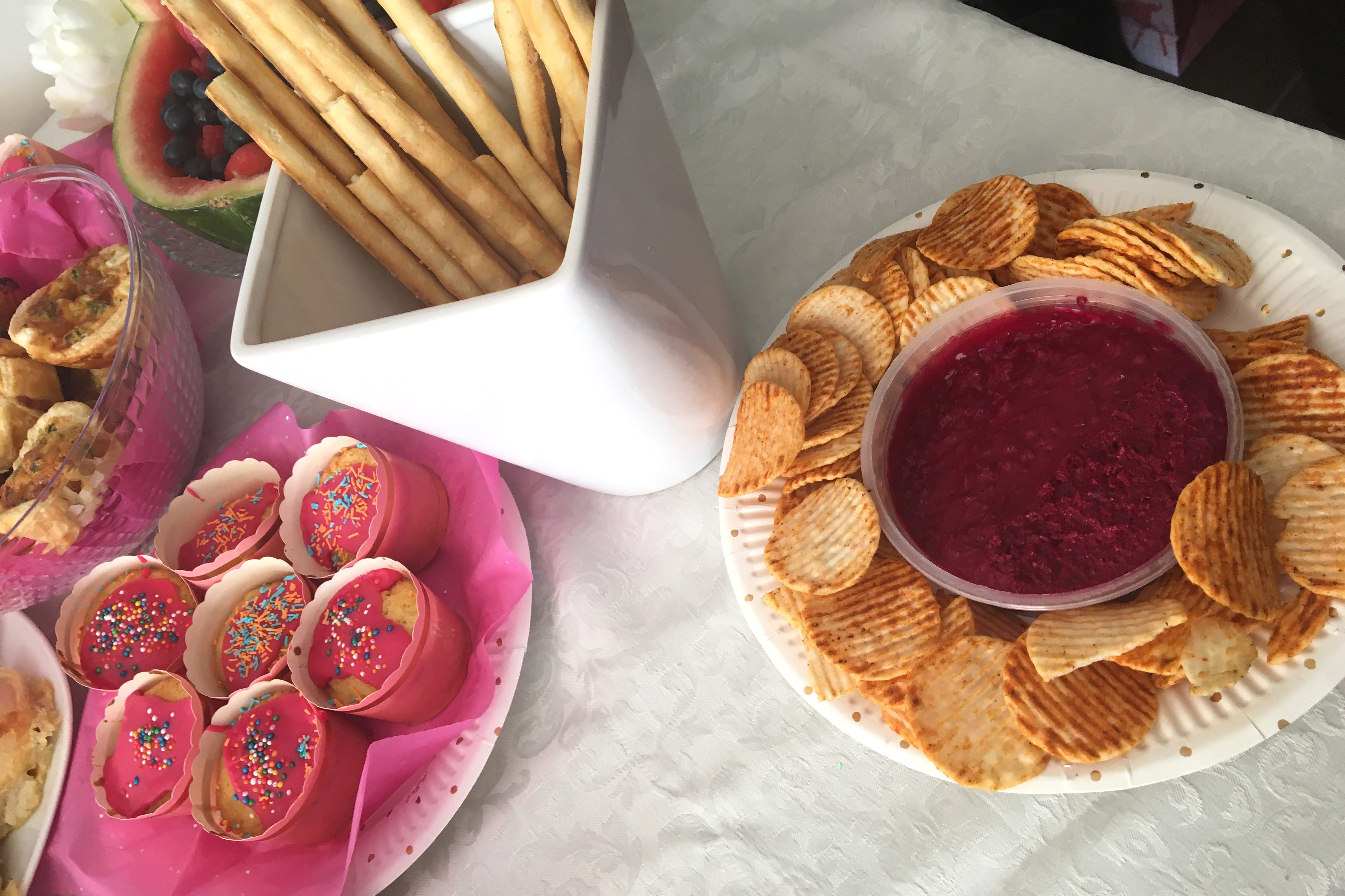 Cupcakes, Chips and Dips