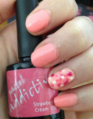 Pink Spotted Nails Feature Image