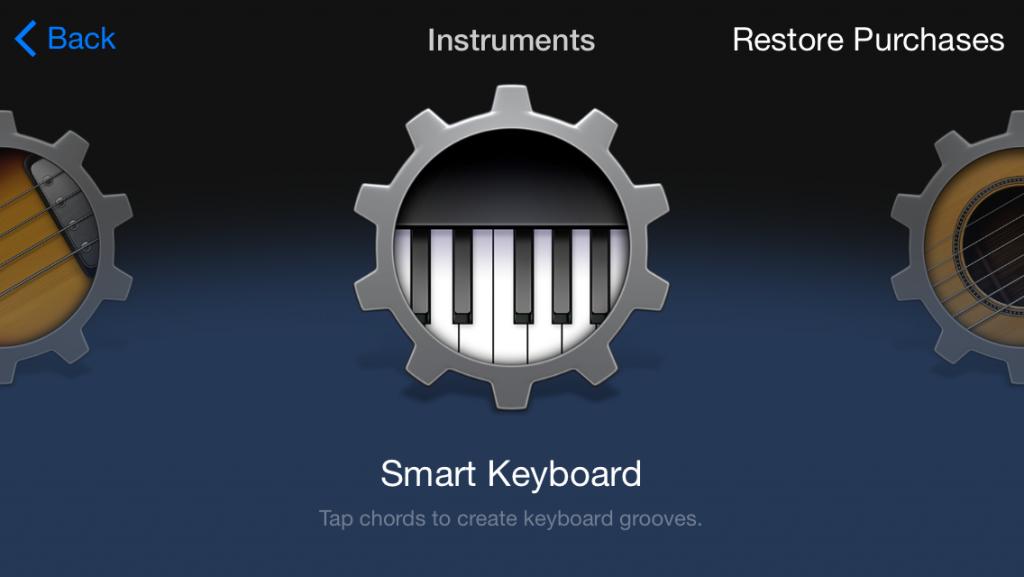 Garage Band App Screenshot 1