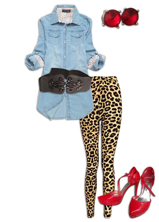 Chambray Shirt Outfit 4